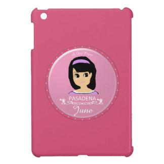 A Girl from Pasadena Logo iPad Mini Cover