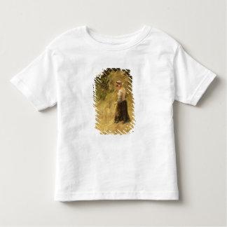 A Girl Harvesting Hay, 19th century Toddler T-Shirt