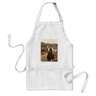 A Girl of the Black Forest, Black Forest, Baden, G Standard Apron