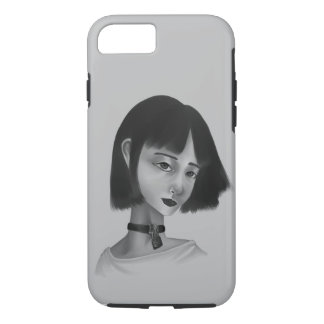 A girl | Phone case iPhone/Samsung