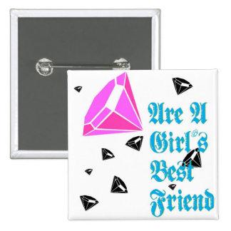 A Girl s Best Friend Buttons