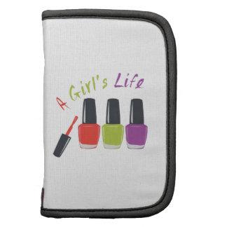 A Girls Life Folio Planners