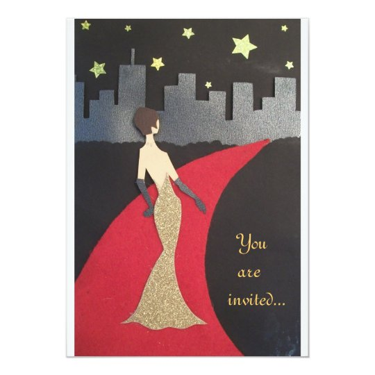 A glamourous invitation, for any event card