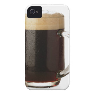 A glass of dark beer iPhone 4 Case-Mate case