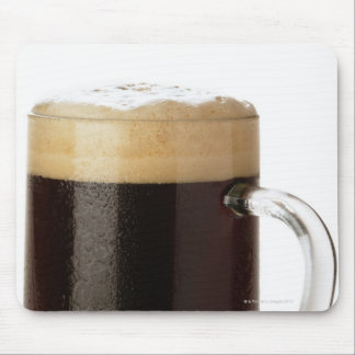 A glass of dark beer mouse pad