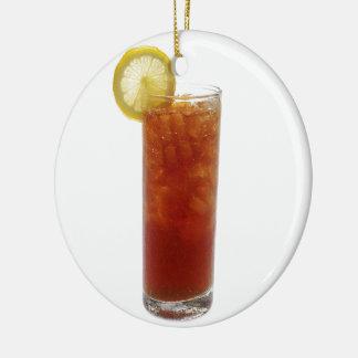 A Glass of Iced Tea Christmas Ornament