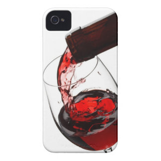 A Glass of Red Wine iPhone 4 Case