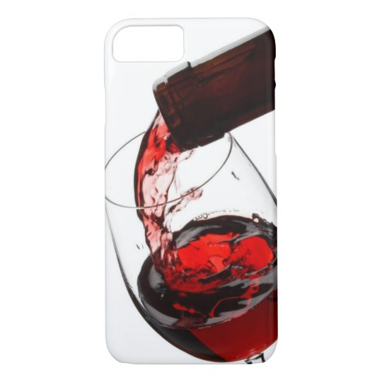 A Glass of Red Wine iPhone 7 Case