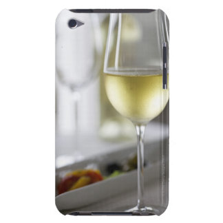 A glass of white wine 2 barely there iPod cover