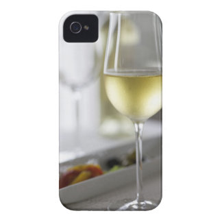 A glass of white wine 2 Case-Mate iPhone 4 case