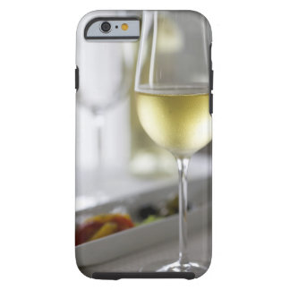 A glass of white wine 2 tough iPhone 6 case
