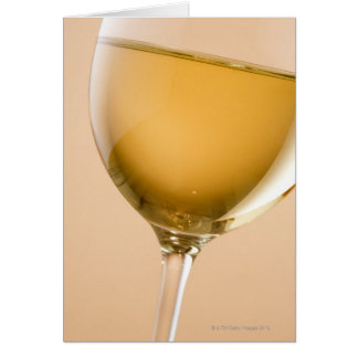 A glass of white wine card