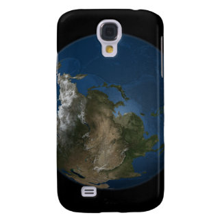 A global view over Asia with Arctic sea ice Galaxy S4 Case
