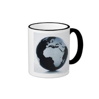 A globe coffee mug
