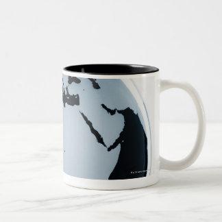 A globe mug