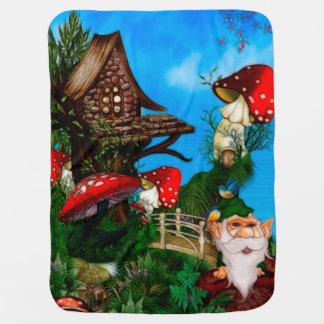 A Gnome for my Garden Fantasy Art Pramblankets
