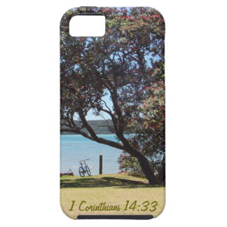 A God of Peace 1 Corinthians 14 33 iPhone 5 Cover
