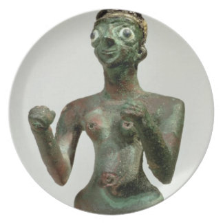 A Goddess of Mari, Early Dynastic Period, c.25th-2 Plate