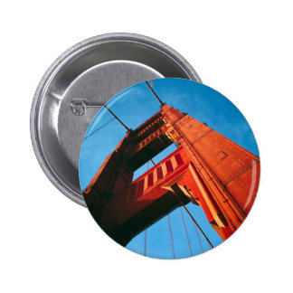 A Golden Gate 6 Cm Round Badge