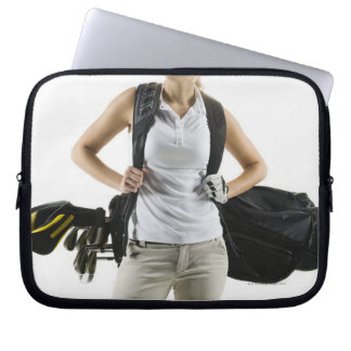 A golfer 2 computer sleeves