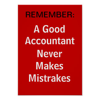 A Good Accountant poster