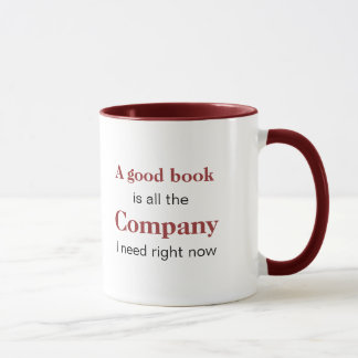 A Good Book is Company