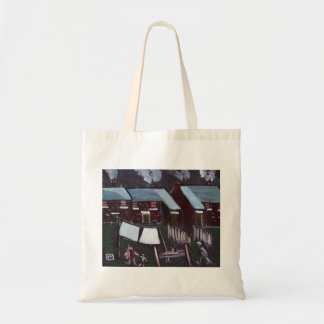 A GOOD DRYING DAY BUDGET TOTE BAG