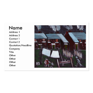 A GOOD DRYING DAY, Name, Address 1, Address 2, ... Pack Of Standard Business Cards
