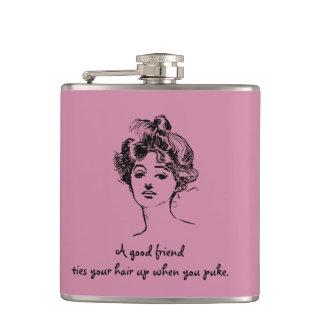 A good friend  Funny Flasks