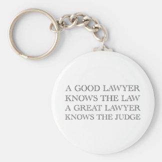 A Good Lawyer Key Ring