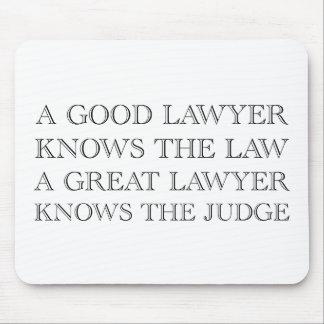 A Good Lawyer Mouse Mat