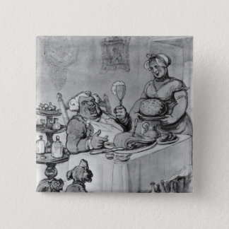 A Good Meal, 15 Cm Square Badge