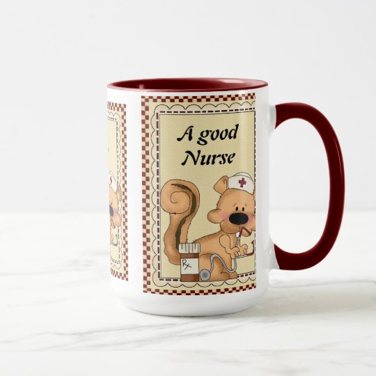 A Good Nurse Coffee mug