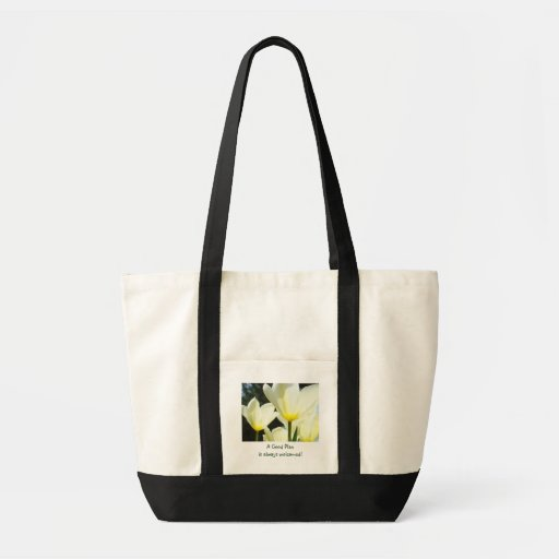 A Good Plan is always welcomed! Tote bag Tulips