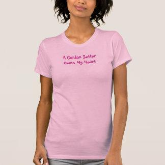 A Gordon Setter Owns My Heart T Shirt