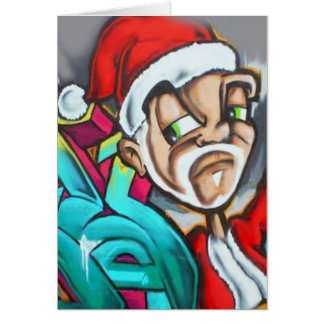 A Graffiti Christmas Card by Dmt.