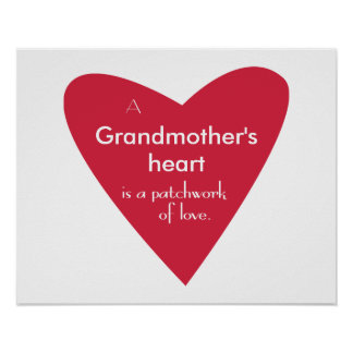 A Grandmother's Heart Poster