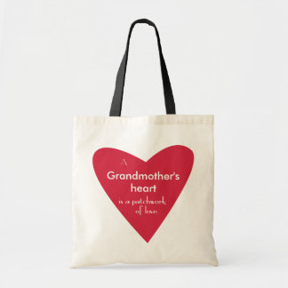 A Grandmother's Heart Tote Bag