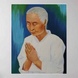 A Grandmother's Prayer Poster