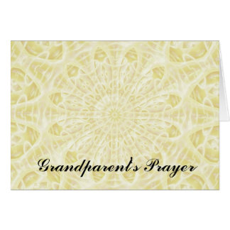 A Grandparent's Prayer Greeting Card