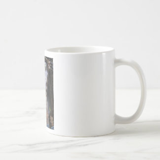 A Grave Ghoul on Halloween - photograph Basic White Mug