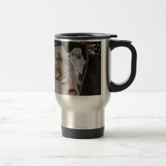 A Grave Ghoul on Halloween - photograph Stainless Steel Travel Mug