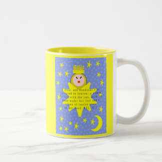 A great and wondrous sign appeared in heaven mug