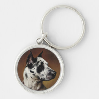 A Great Dane Keychain