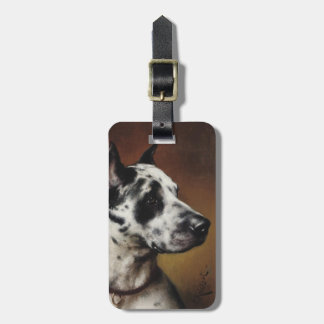 A Great Dane Luggage Tag