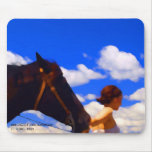 A GREAT DAY TO RIDE MOUSE PAD