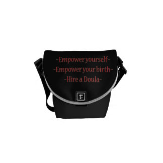 A great doula bag! courier bag