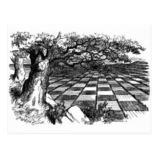 A Great Huge Game of Chess Postcard