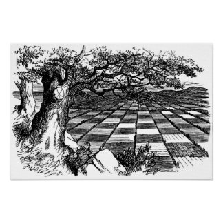 A Great Huge Game of Chess Poster