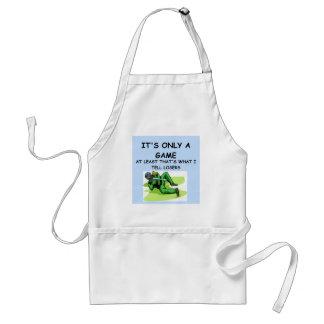 a great joke about winning! apron